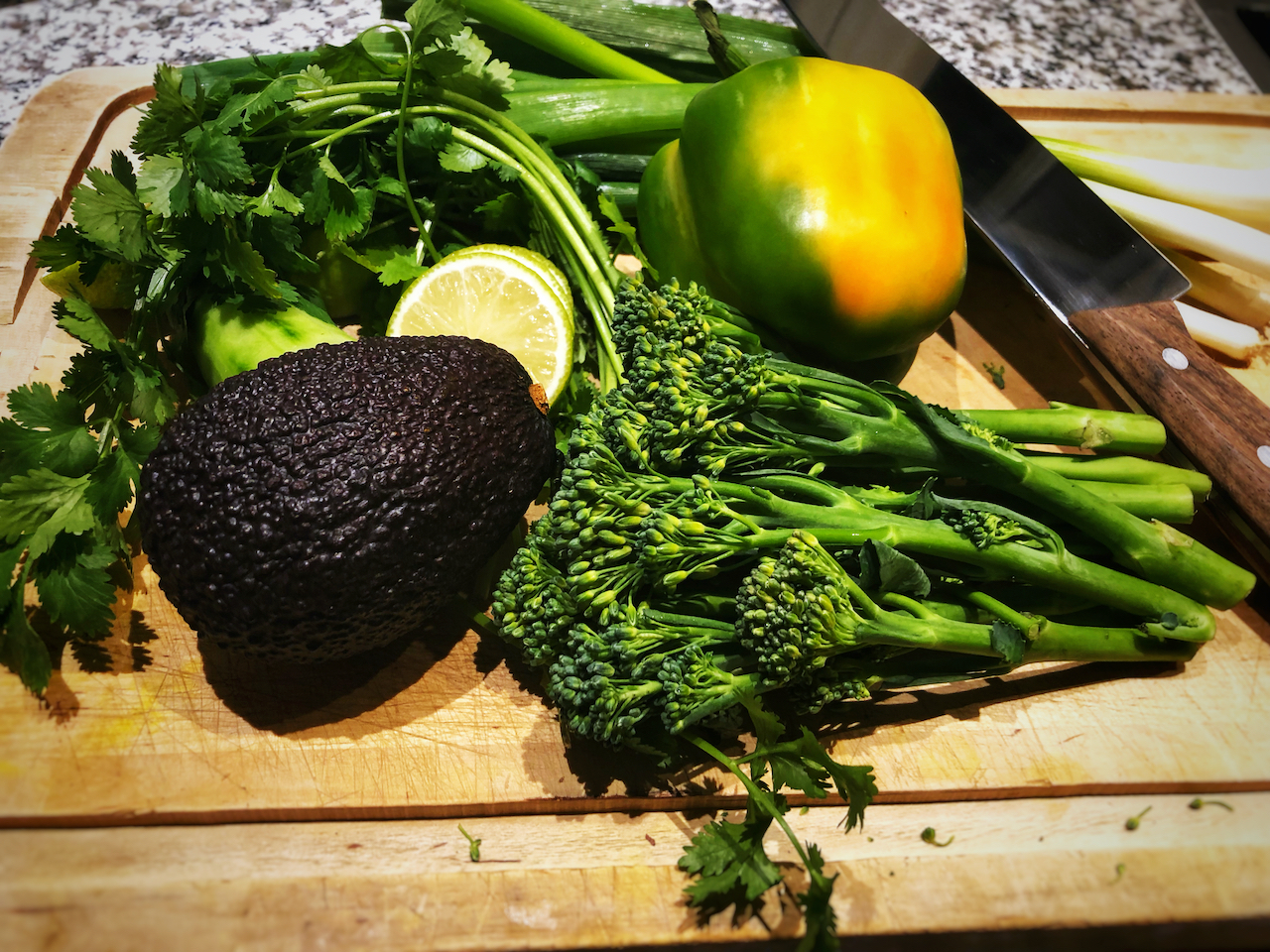 Vegetables for Poké bowl