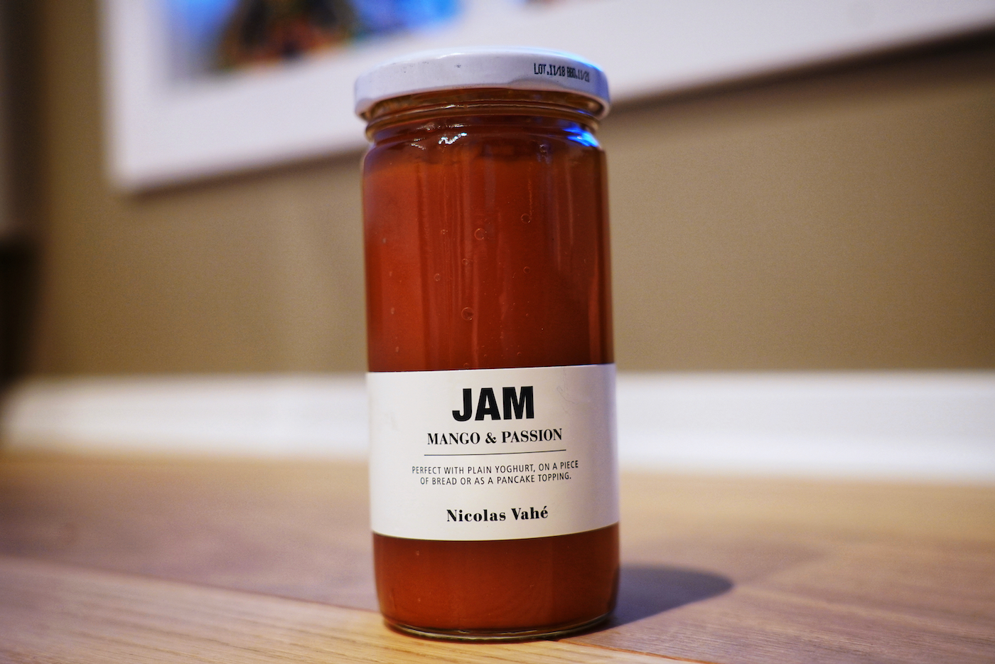 Mango and passion Jam - a match made in heaven