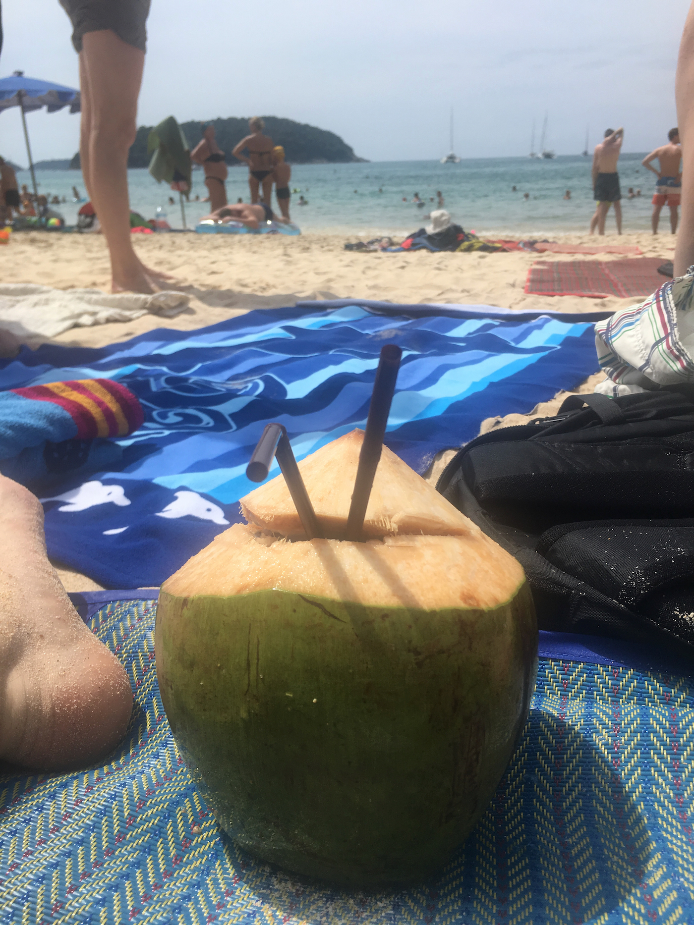 A coconut in Thailand