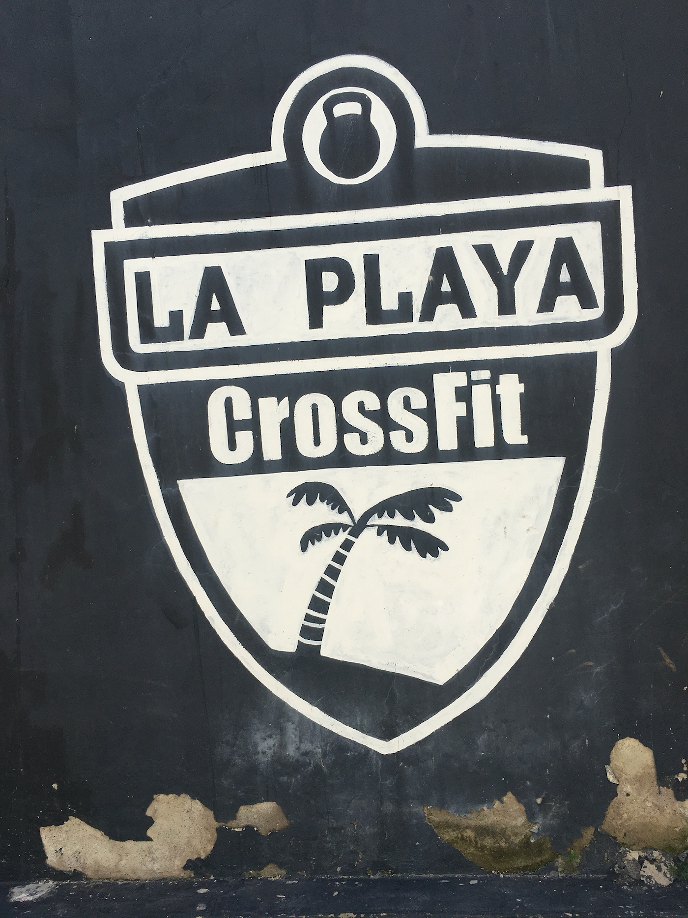 Local CrossFit box in Cartagena, Colombia